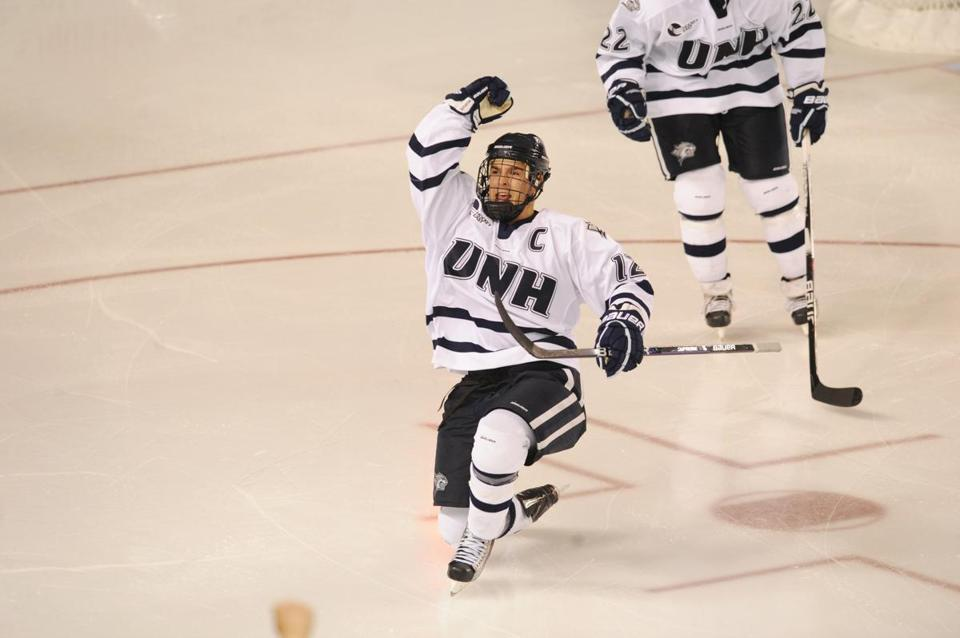 Bobby Butler was named Hockey East Player of the Year in 2010 after  starring for UNH.